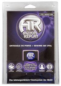 Packung Action Replay GameCube